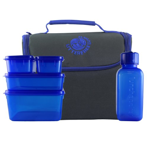 New Wave Enviro Litter Free Lunch Bag (Solid Color) - 1