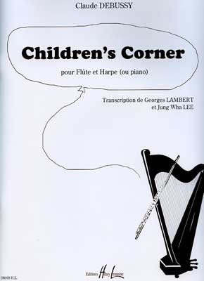 LEMOINE DEBUSSY CLAUDE - CHILDREN'S CORNER - FLUTE, HARPE (OU PIANO) Classical sheets Chamber music