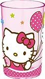 Unitedlabels  0119226 Becher - Kunststoff- Trudeau - Hello Kitty, 225 ml
