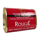 Image of Rougie Block of Goose Foie Gras with 3% Truffles (Pate) 5.1 oz 145 gr French luxury Rougie, One