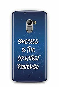 YuBingo Success is the Greatest Revenge Designer Mobile Case Back Cover for Lenovo K4 Note