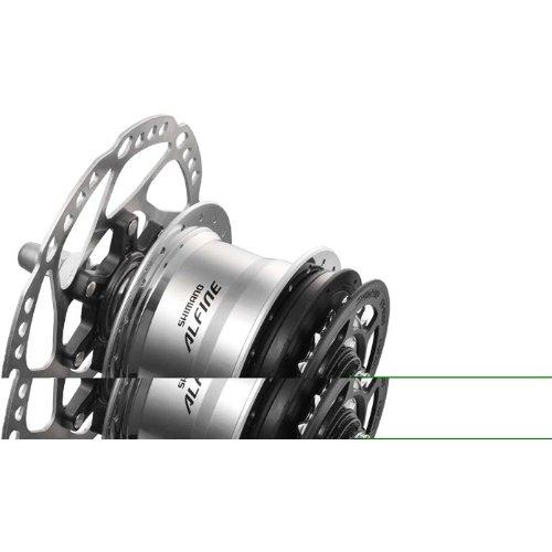 Shimano Alfine 11-speed Disc Hub - SG-S700 - 36H - Silver