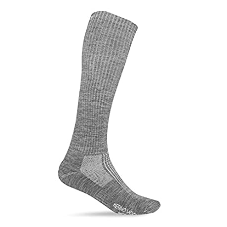 Giro 2013 Men's Merino Seasonal Wool Hightower Sock (Charcoal - Icon - L)