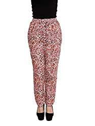 ABSTRACT PRINT TROUSERS