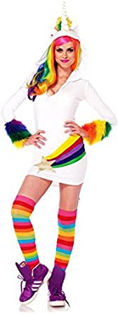 Leg Avenue Womens Cozy Unicorn Adult Costume