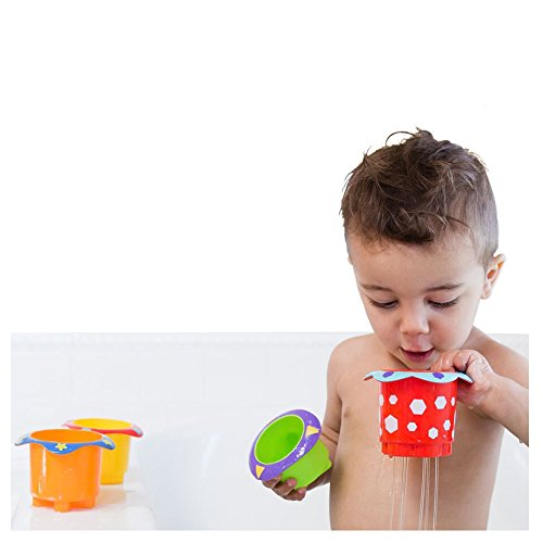 Nuby Splish Splash Bath Time Stacking Cups