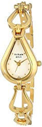Titan Raga Analog White Dial Womens Watch - NE2333YM01