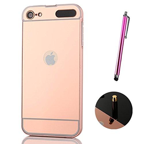 coque-miroir-aluminium-metal-pour-apple-ipod-touch-5-6e-generation-en-rose