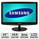 Samsung B2430H 24-Inch Widescreen LCD Monitor – Glossy Black