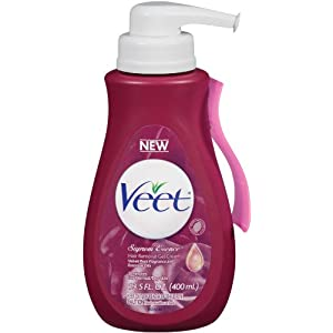 Veet Fast Acting Gel CreamHair Remover, Legs and Body with Essentail Oils and Velvet Rose Scent, 13.50 Ounce