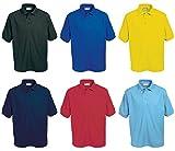 Blue Max Kids Penthouse Polo Shirt Casual Wear Contrast Button T-Shirt Junior