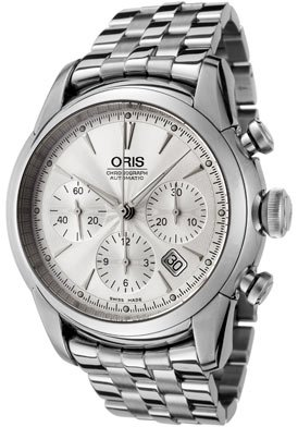 Oris Men's 676 7547 4051MB Culture Artelier Chronograph Watch