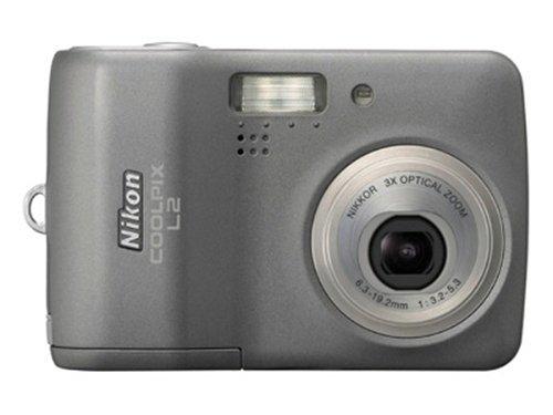 Nikon Coolpix L2 6Mp Digital Camera With 3X Optical Zoom