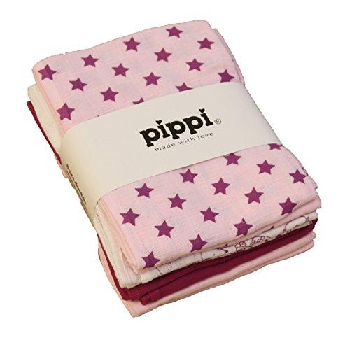 Pippi-Baby-Mdchen-Windeln-AO-bedruckter-8-Pack-Schal-Gr-Einheitsgre-Herstellergre7070-cm-Pink-Ligthrose