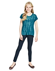 Autograph Sequin Embellished T-Shirt & Leggings Outfit