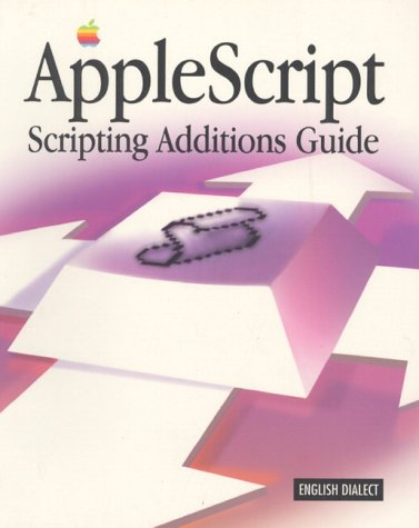 Applescript Scripting Additions Guide: English Dialect
