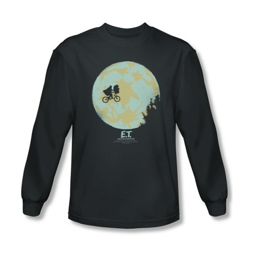 Et Extra-Terrestrial Sci-Fi Drama Movie In The Moon Adult Long Sleeve T-Shirt