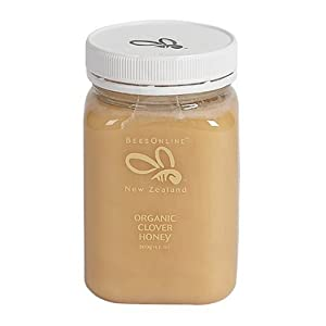 Hnz Organic Clover Honey, 1.1PoundsJar