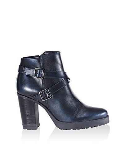 UMA Zapatos abotinados Anita Azul