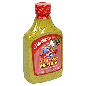 Amazon.com : Woeber's Sandwich Pal Sweet & Spicy Mustard ...