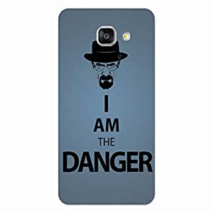 GripIt Breaking Bad Danger Back Cover for Samsung Galaxy A7 (2016)