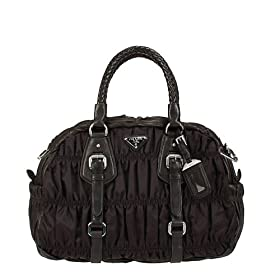 Prada Vela Sport Doctor Bag Bl0397 - Black