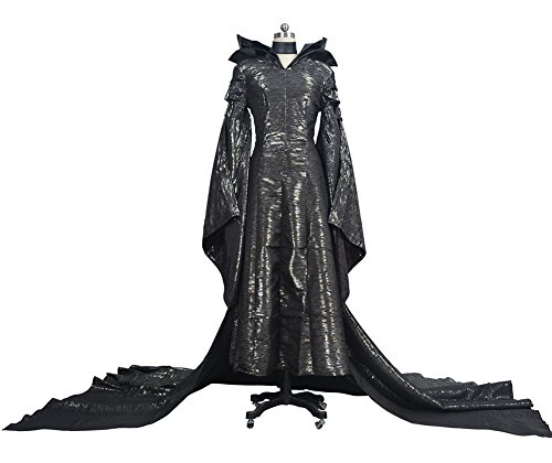 Ace Halloween Women's Maleficent Angelina Jolie Costumes Outfit Fancy Dress