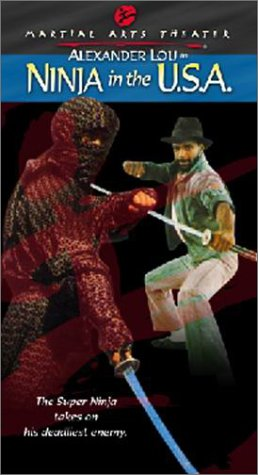 Ninja in Usa [VHS] (Stores In Eugene Or)
