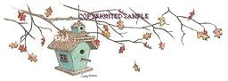 Birdhouse Fall - Drawing by Cindy Farmer