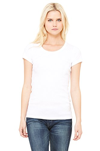 Zara Yoga Studio |LA| Women's Baby Rib Short Sleeve Scoop Neck Tee