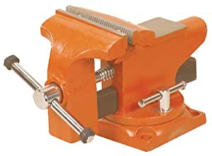 Adjustable Clamp 23530 Pony Light-Duty Bench Vise with Swivel Base
