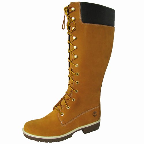 Rev Timberland Women's Premium 14-Inch Lace-Up