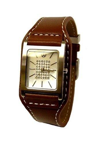 Oliver Weber Athen Brown Ladies Leather Bracelet Watch