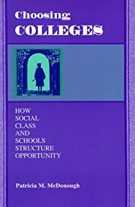 "Cover of ""Choosing Colleges: How Social C..."
