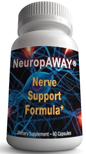 NeuropAWAY Nerve Support Formula ★ with Taurine ★ Improves Circulation ★ Neuropathy Pain Relief ★ Reduce Burning, Tingling, Numbness ★ Feel Better