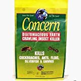 Concern 97064 Diatomaceous Earth Crawling Insect Killer 4 Pound Bag