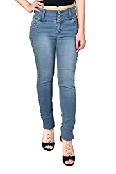 Nifty Women's Slim Fit Jeans (1315, Grey, 30)