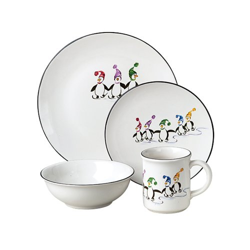 Create a new family tradition with this fun whimsical Christmas dinnerware pattern that features adventurous penguin pals. Dishwasher Safe Microwave Safe  sc 1 st  GottaDeal.com Forums & Pfaltzgraff Penguin Skate 16- Pc Dinnerware Set. Svc For 4 Was $160 ...