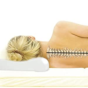 Best Types of Neck Pain Pillows. All of the pillows in our list are made of strong fiber filling, memory foam or are a water based construction for a reason. Those are the very best types of pillows for neck pain relief. They provide support while being luxurious and comfortable.