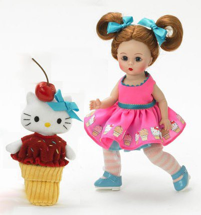 Buy Madame Alexander 8 Inch Americana Collection Doll – Ice Cream Delight Kitty