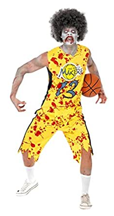 Smiffys Men's High School Horror Zombie Basketball Player