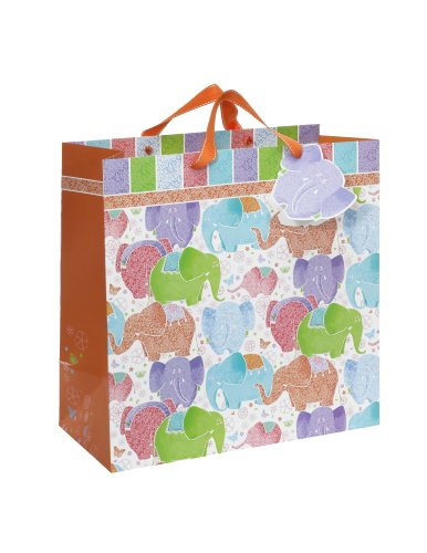 Pierre Belvedere Home Elephants on Parade Jumbo Gift Bag