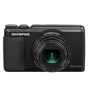 OLYMPUS デジタルカメラ STYLUS SH-60 ブラック SH-60 BLK