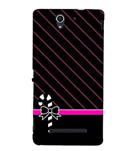 Kitty Fashion 3D Hard Polycarbonate Designer Back Case Cover for Sony Xperia C3 Dual D2502 :: Sony Xperia C3 D2533