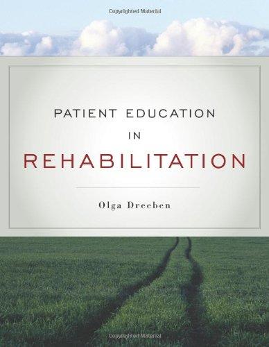 Patient Education In Rehabilitation