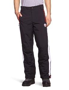 Nebulus Downhill Pantalon de ski homme Noir/Blanc FR : L (Taille Fabricant : L)