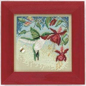 Mill Hill Beads Buttons Cross Stitch Kit - Hummingbird