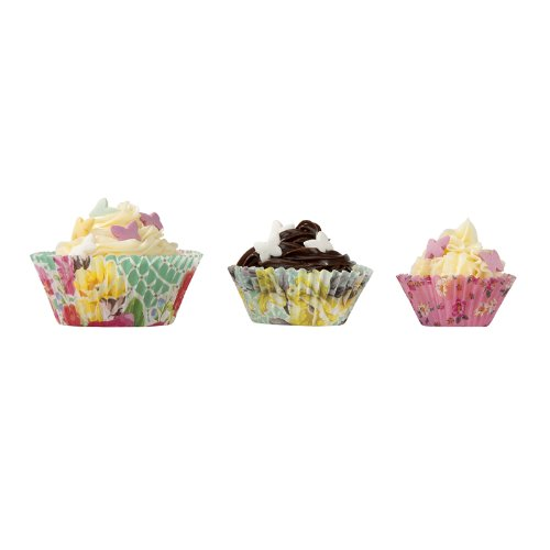 Talking Tables Truly Scrumptious Paper Cake Cup Cases (60 Pack), Multicolor