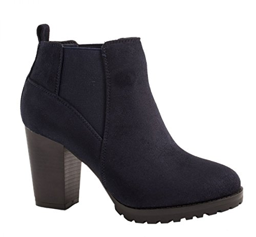 elara damen stiefeletten klassische ankle boots. Black Bedroom Furniture Sets. Home Design Ideas