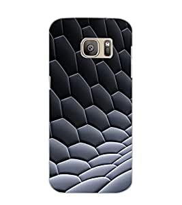 SAMSUNG GALAXY S7 EDGE PATTERN Back Cover by PRINTSWAG